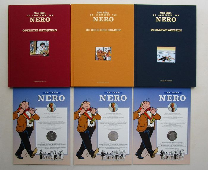 Nero -  50 jaar Nero - 3 luxe uitgaves - Hardcover - First edition - (1997)