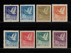 Kína - 1878-1949 1949 - China 1949 Flying Geese Stamps
