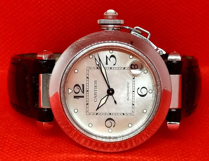 Cartier - Pasha Mother of Pearl Dial - Ref. 2324 - Unisex - 2000-2010