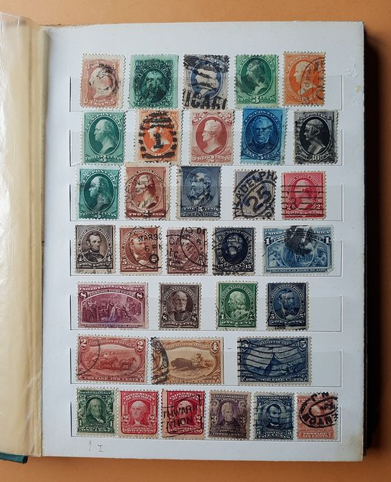 United States of America 1861/1953 - Presidents, famous people and commemorations - Unificato