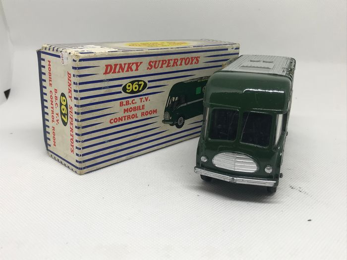 Dinky Toys - 1:43 - BBC TV mobile control room N°967