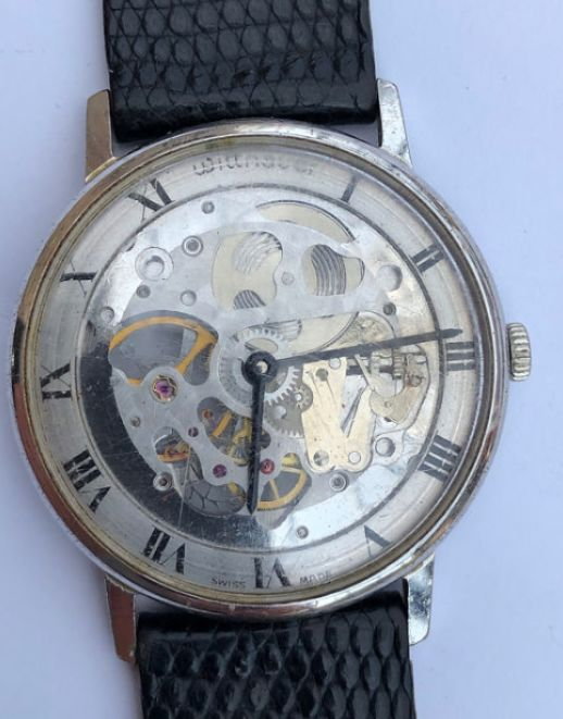 "Wittnauer - Extremely Rare Wittnauer Skeleton Vintage - ""NO RESERVE PRICE"" - Homem - 1970-1979"