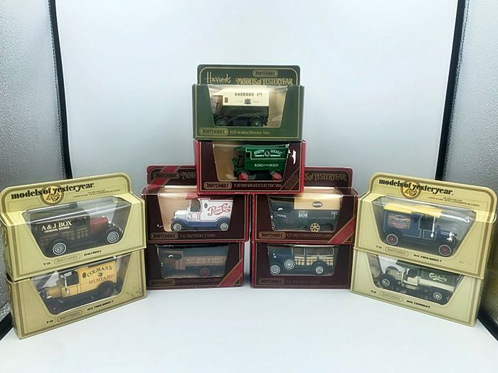 Matchbox - 1:35 - Lot with 10 models