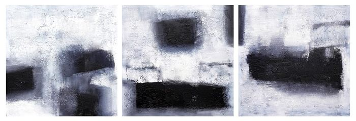 Suzanne Visser - Abstract - Triptych