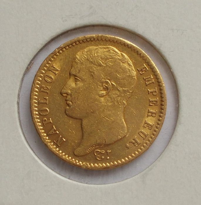 20 Francs 1807-A Napoléon I - Or