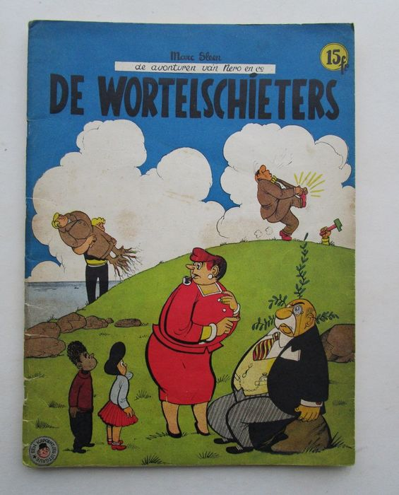 Nero 18a - De wortelschieters - Stapled - First edition - (1956)
