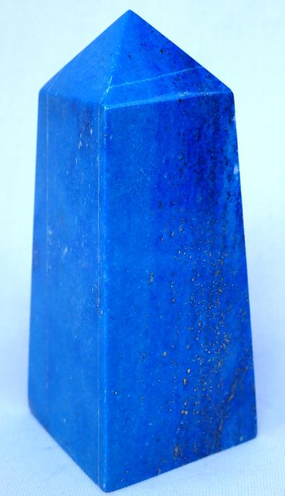 Natural Blue Lapis Lazuli Obelisk 1325ct - 89.38×38.64×37.75 mm - 265 g