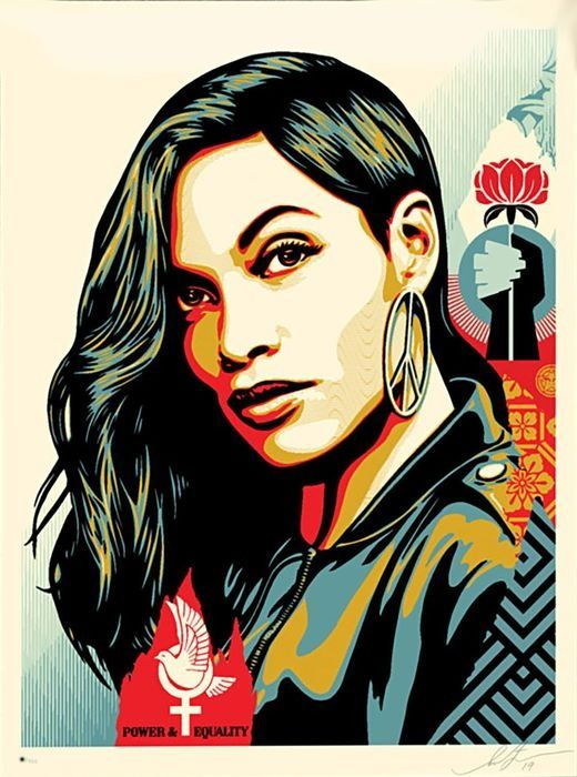 Shepard Fairey (OBEY) - Power & Equality (Dove)