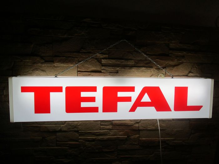 [101/21/10cm] - TEFAL - old light box mady by Api Naarden Holland - Plastic