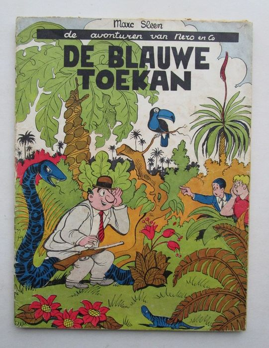 Nero 7 - De blauwe toekan - Stapled - First edition - (1954)