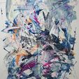 Contemporary Abstract Expressionist Art Auction