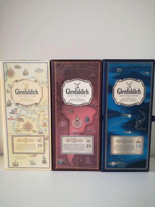 Glenfiddich 19 years old Age of Discovery  - 0.7 Ltr - 3 bottles