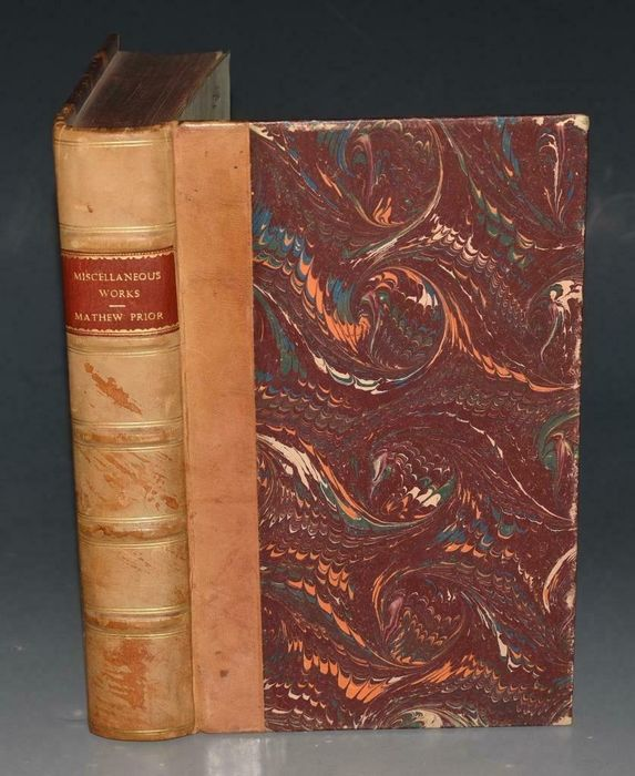 Matthew Prior and Adrian Drift - Miscellaneous Works of His late Excellency Matthew Prior, esq - 1740