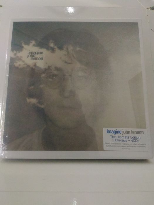 John Lennon - Imagine - The Ultimate Collection - CD Box set, Deluxe edition, 4CD+2Blu-Ray+120 page book - 2018/2018