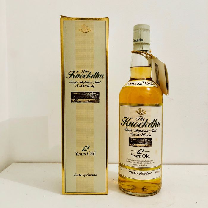 Knockdhu 12 years old - Original bottling - b. 1980s - 75cl