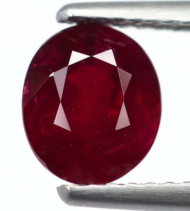 No Reserve - Red Ruby - 1.62 ct
