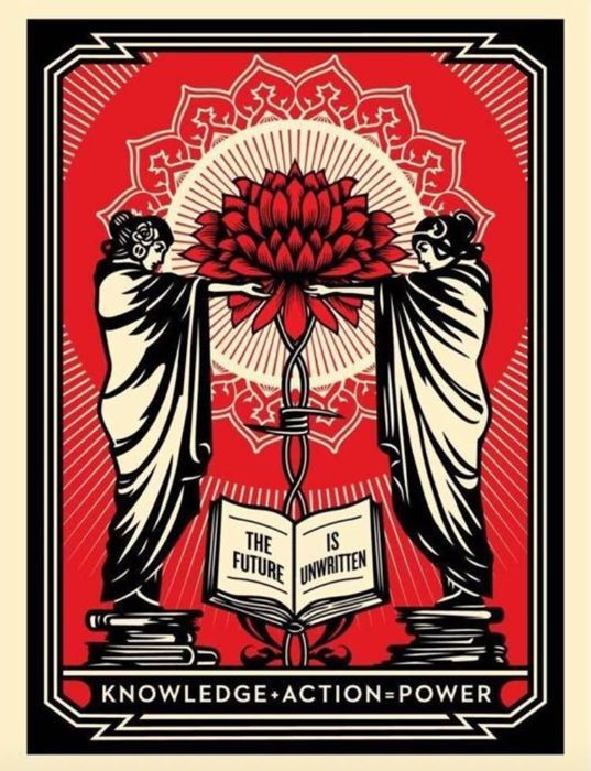 Shepard Fairey (OBEY) - Knowledge + Action