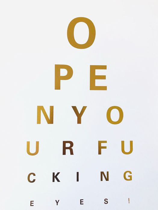 Alex Bucklee - Eye Test (gold foil)