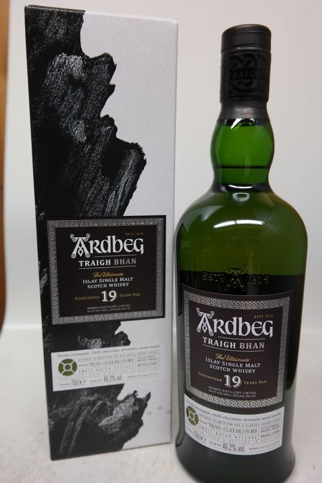 Ardbeg 19 years old Traigh Bhan - Small Batch Release - 0.7 Ltr