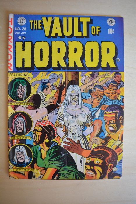 The Vault of Horror #28 - Featuring - the vault-keeper - the old witch - the crypt-keeper - Tapa blanda - Primera edición - (1953)
