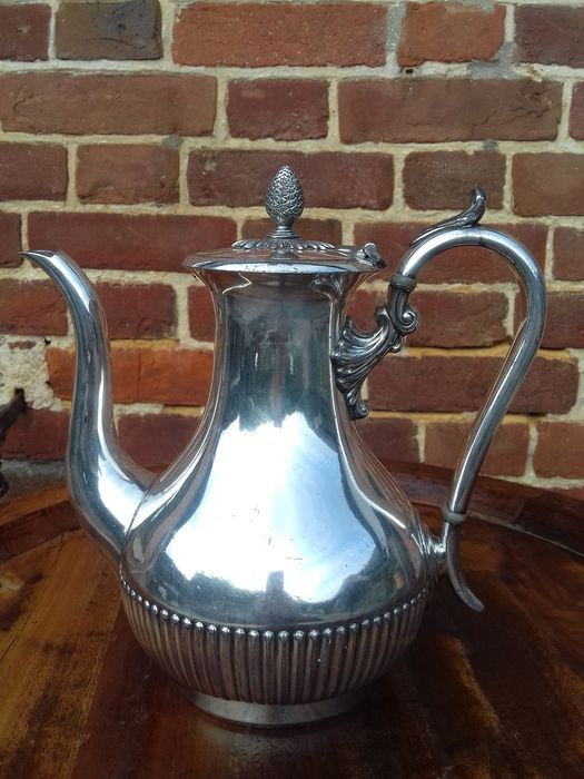 james dixon and sons - Coffee pot (1) - Victorian - Silver plated