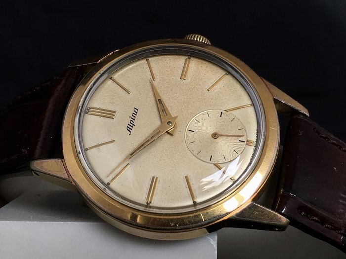 "Alpina - Dresswatch Sub Second - Ref. 597108 - ""NO RESERVE PRICE""  - Homme - 1950-1959"