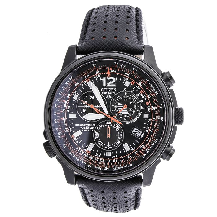 Citizen - AS4025-08E SOLAR SAPPHIRE CHRONO 20 ATM - Heren - 2011-heden