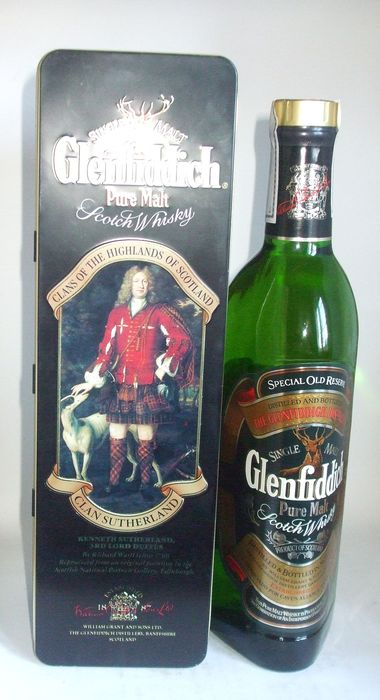 Glenfiddich Special Old Reserve Clan Sutherland - b. 1980s - 70cl