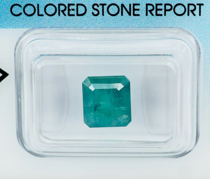 No Reserve - Greenish Blue Grandidierite - 2.56 ct
