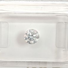 Diamant - 0.51 ct - Brilliant - G - SI1, No Reserve Price