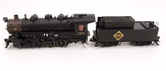 Proto 2000 Heritage H0 - 23286 - Steam locomotive with tender - USRA 0-8-0 - Erie Lackawanna