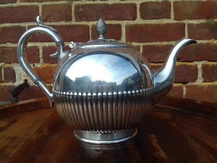 james dixon and sons - Teapot (1) - Victorian - Silver plated