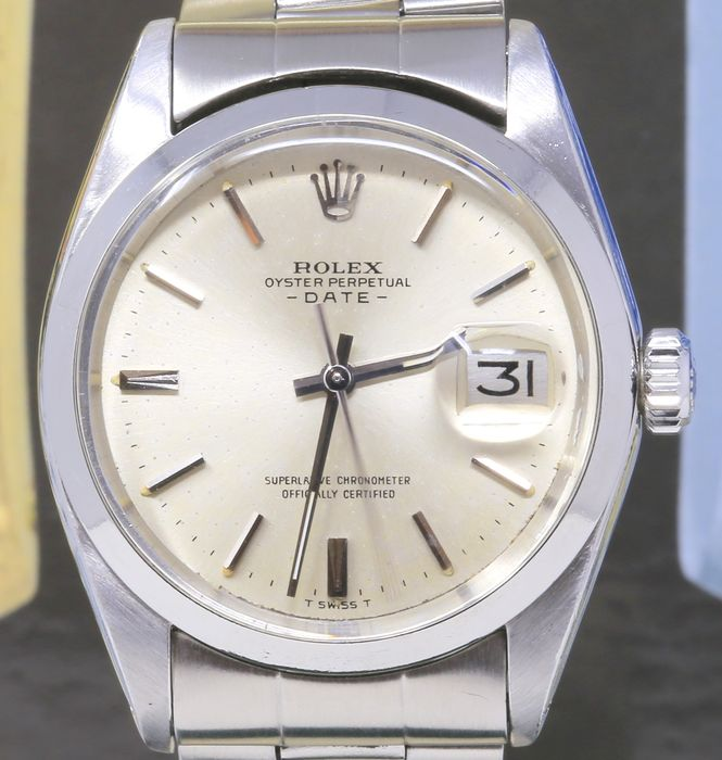 Rolex - Oyster Perpetual Date Ref. 1500 - Hombre - 1970-1979