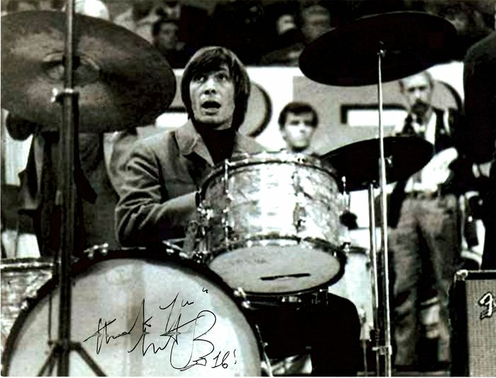Charlie Watts & Related -  Autograph  signed on photograph - Photograph -set in person - 2016/2016