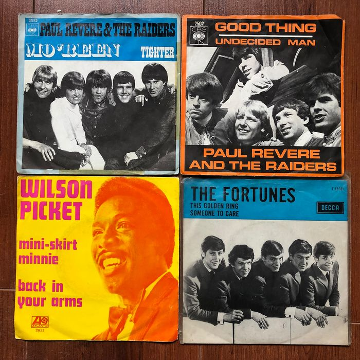 Hits from the Sixties  - From Archies to Yardbirds on 20x singles - Single 45 rpm - 1964/1969
