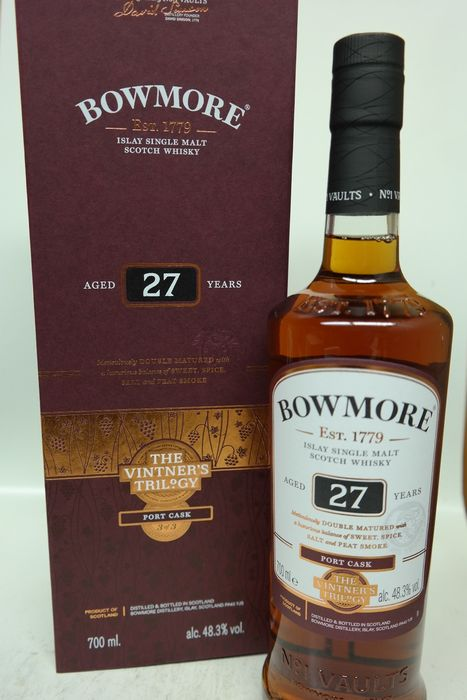 Bowmore 27 years old The Vintner's Trilogy - Port Cask - 0.7 Litres