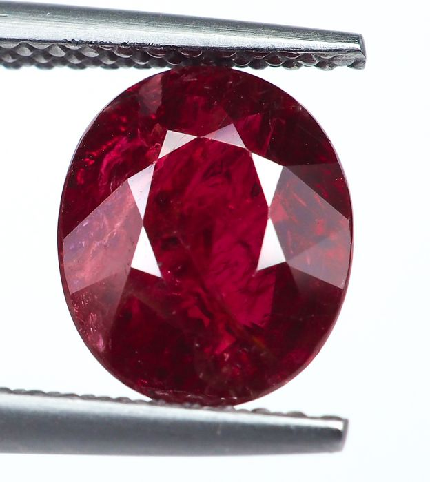 No Reserve - Red Ruby - 2.63 ct