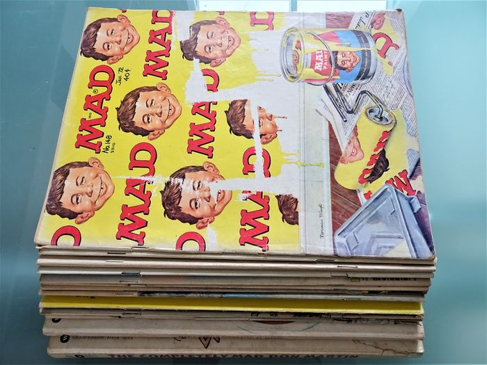 MAD en MAD special - MAD comics and MAD magazines - First edition - (1972/1998)