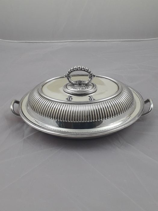 waranted hard soldered -  english silver plated. - Tureen (1) - Victorian - .925 silver