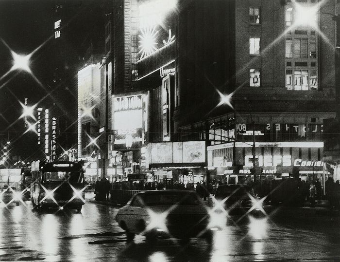 Unknown - Broadway at Night, New York City, 1973