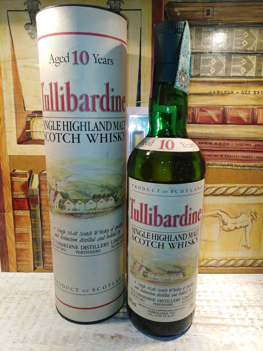Tullibardine 10 years old - Original bottling - b. 1990s - 70cl