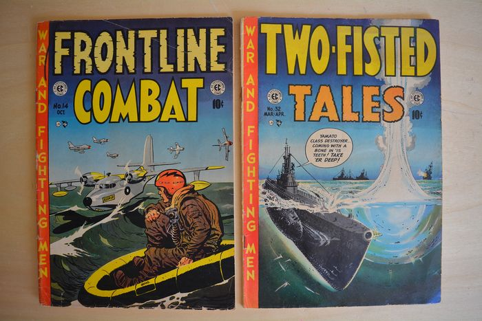 Two-fisted Tales / Frontline combat #32  #14 - War and fighting men - Softcover - First edition - (1953)