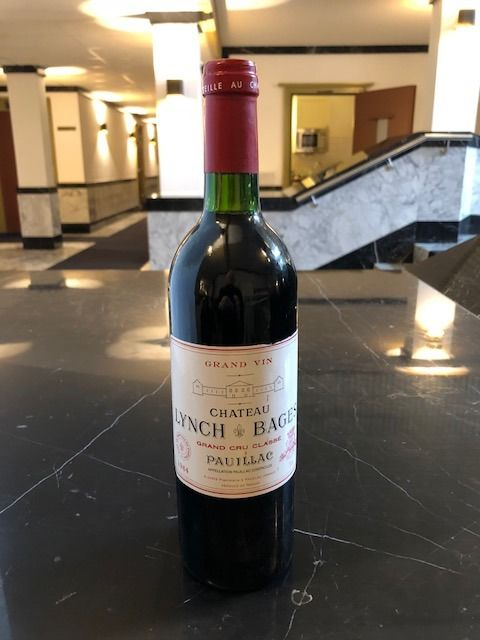 1984 Chateau Lynch Bages - Pauillac 5éme Grand Cru Classé - 1 Bottle (0.75L)