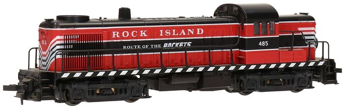 "Atlas/Kato H0 - 8158 - Diesel locomotive - 485 ""Route of the Rockets"""