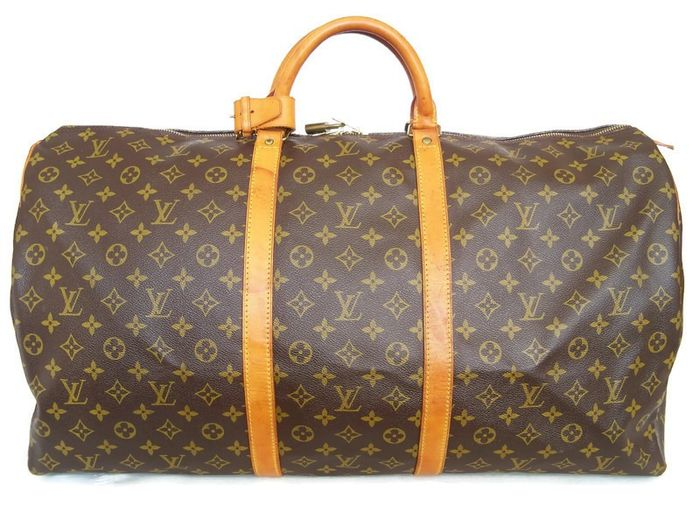 Louis Vuitton - Keepall 60 Luggage bag + LV Accessories *