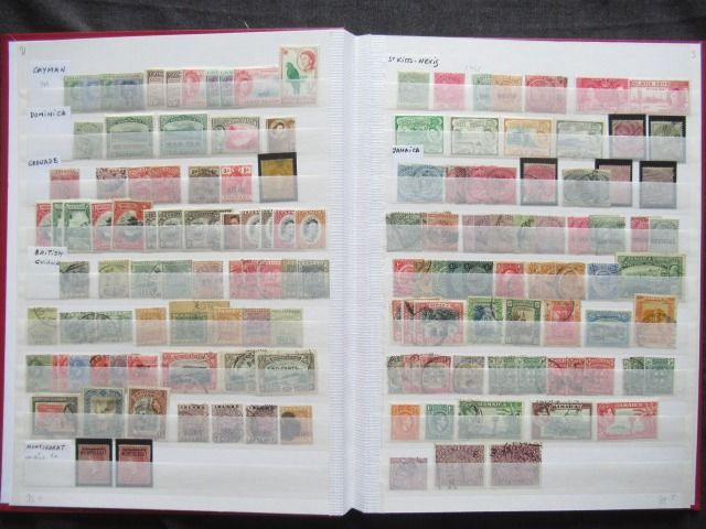 Antigas colônias britânicas - Collection of stamps