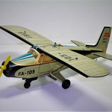 HWN (West-Germany) # - 1960's CESSNA AIRPLANE (USAF) 105/5, friction - 1960-1969 - Germany