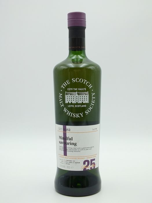 """Glen Grant 1992 25 years old SMWS 9.152 """"Mindful Savouring"""" one of 196 bottles - SMWS (Scotch Malt Whisky Society) - 70cl"""