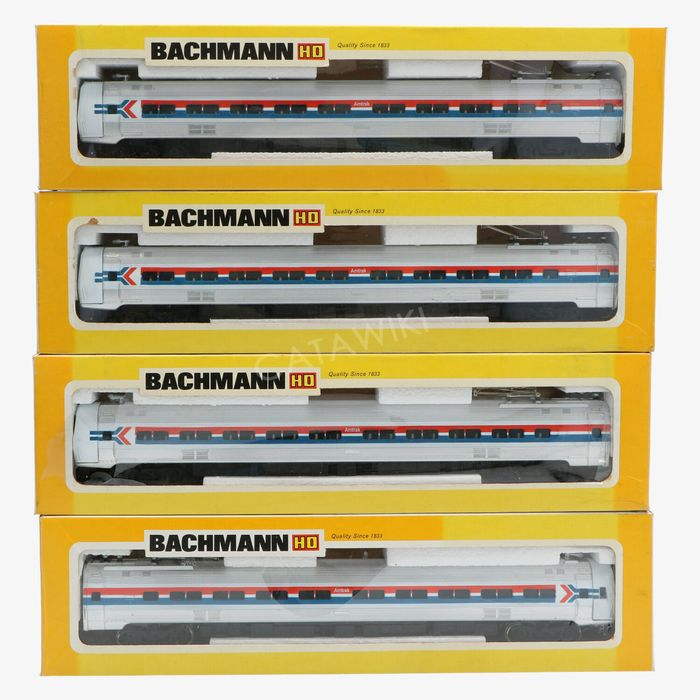 Bachmann H0 - 1300, 1301, 1301, 1301 - Railcar - Metroliner - Amtrak