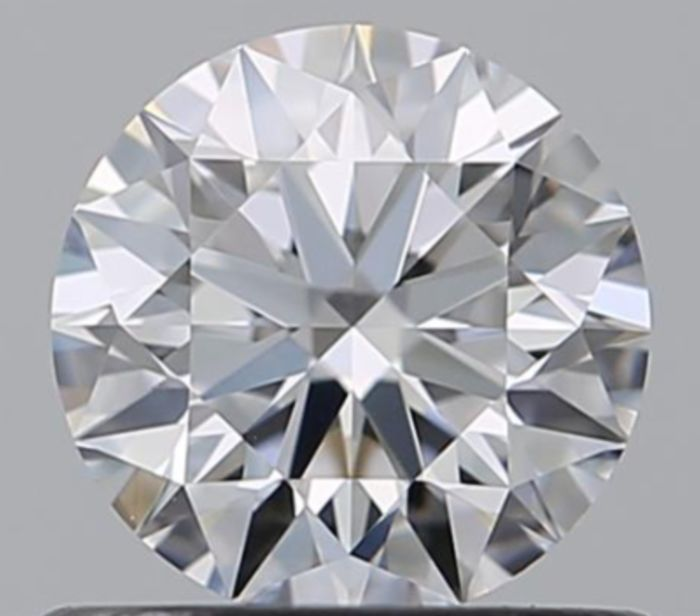 1 pcs Diamond - 1.01 ct - Round - D (colourless) - VS1